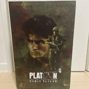 Movie Masterpiece Chris Taylor Hot Toys Platoon 1/6 Scale Figure Military