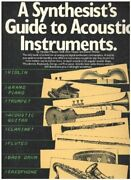 A Synthesistand039s Guide To Acoustic Instruments By Howard Massey