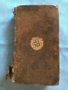 Rare C1685 Louis Xiv French Law Book On Hunting