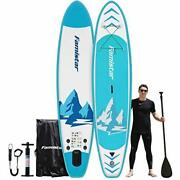 12and039x32x6 396lbs Capacity All-around Inflatable Stand Up Paddle Board - Stab...