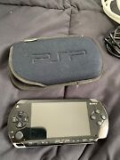 Sony Playstation Portable Black Psp-1001k With Atv Game. No Chargerandnbsp