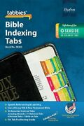 Tabbies Bible Indexing Tabs Standard Old And New Testament Brand New