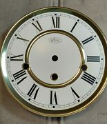 Nos Ridgeway Chime Wall Clock 7 Dial With Feet 6 Time Track Roman Numeral