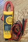 Fluke 337 Ac / Dc Clamp Meter With Leads