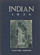 1936 Indian - Anderson High School Yearbook - Anderson Indiana