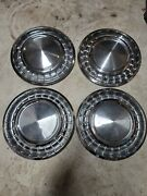 1958 Plymouth Belvedere Hubcaps 14 Inch Factory Stock Wheel Covers