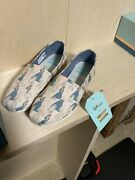 Nib Toms Pink Sleeping Beauty Classic Womens Size 7 With Box