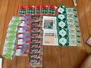Starbucks 50 Gift Card Lot Reloadable 6154 6157 Deer Snowman Gift And More