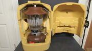 Vintage Coleman 1980 Camping Lantern Model 275 Double Mantle W/ Carrying Case