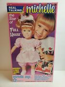 Full House Michelle Mary Kate And Ashley 1990 Meritus Real Talking 15 Toy Doll