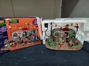 Killer Clown Moblie Home - 2012 Lemax Spooky Town - Retired -excellent Used Cond