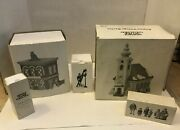 Lot Of Dept.56 Heritage Village Collection Christmas Display-56572-5617- 5570