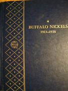 1913 To 1938 Buffalo Nickel Collection