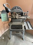 Ww2 Graphotype Dog Tag Stamping Machine Model 6381 Addressograph Multigraph Wwii