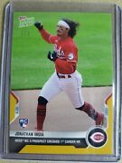 Jonathan India Gold 2021 Mlb Topps Now Card 112 1/1 Reds 1st Career Hr Rc