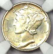 1942 Proof Mercury Dime 10c Coin - Certified Ngc Pr68 Pf68 - 1,750 Value