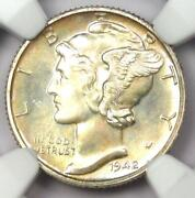 1942 Proof Mercury Dime 10c Coin - Certified Ngc Pr68 Pf68 - 1750 Value