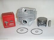 Piston And Cylinder Fits Stihl 038 Magnum 52mm Kit, Part 1119-020-1202, New