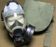 Us Msa Mcu-2/p Field Gas Mask And Bag Size M Us Navy And Air Force Issue