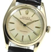 Rolex Automatic Unisex Adult Oyster Perpetual Bubble Back 5048 Tk758