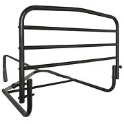 Adult Bed Side Safety Rail 30in Fall Prevention Support Elderly Home Hospital