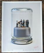 James Cauty Small World Re-enactment Series Riot In A Jam Jar 1/31. Official....