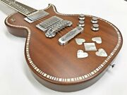 Zemaitis A24su Natural Pearl Heart Electric Guitar Ships Safely From Japan