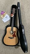 Rare Taylor 410 Acoustic Dreadnought Guitar With Orig. Hard Case 2004 Year