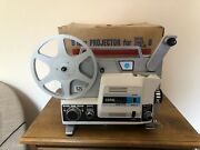 Copal Sekonic Cp77 Dual Standard Super 8 - 8mm Film Projector Turns On Untested
