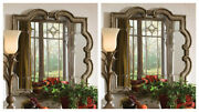 Two Prisca Xxl 36 Farmhouse French Inspired Wood Wall Mirror Uttermost 12597