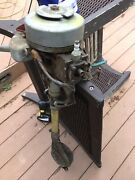 Vintage Johnson Seahorse Ms 15 Outboard Motor Good Condition Compression Good