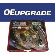 Cz Upgrade Chain And Sprocket Kit For Bmw F650gs 09-11 With 8mm Mounting Holes