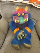 Vintage 80's My Pet Monster 24 Large With Cuffs Original Owner