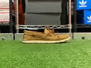Ugg Beach Low Top Mens Moc Slip-on Boat Shoes Caramel Brown 1101501 New Sz 9
