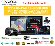 Kenwood Dnx9190dabs For Toyota Fortuner 2015-2019 Car Stereo Upgrade Kit Amp