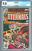 Eternals 2 1976 Cgc 9.8 White Pages 1st App Of Ajak And The Celestials