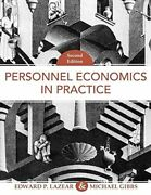 Personnel Economics In Practice By Edward P. Lazear And Michael Gibbs - Hardcover