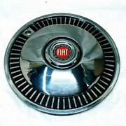 1974-1976 Fiat 131 Set Of 4 Genuine Nors Hubcaps Wheel Covers For 13 Inch Wheels