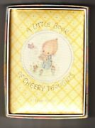 A Little Book Of Cheery Thoughts Hallmark Editions By Betsey Clark - Hardcover