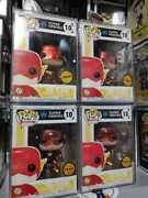 4 Funko Pop Heroes Dc Super Heroes 10 The Flash Limited Edition Chase