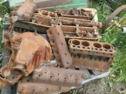 Ford Model T 6 Blocks 7 Heads And 1 Bell Housing
