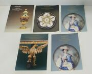 Lot Of Sothebyand039s English Ceramics Pottery Furniture Antique Auction Catalogs 80s