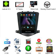 For 2009-14 Chevy Cruze 9.7and039and039 Vertical Android 10.1 Car Radio Gps Wifi Quad-core