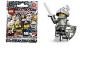 Lego 2013 Minifigures Series 9 Heroic Knight Sealed In Package 71000