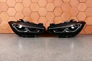 Bmw 8and039 G14 G15 G16 Complete Headlights Front Adaptive Led Right Left Lhd Set