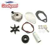 Water Pump Impeller Kit For 1991-up Mercury Mariner 40-60hp Outboards 46-812966a
