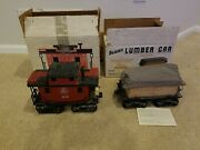 2x Vintage Jim Beamand039s Car Decanters New Jersey Central And Lumber Car Free Ship