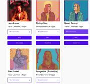 Trevor Lawrence X Topps Full Digital Collection-5 Rare And Limited Collectibles