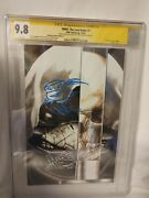 Cgc 9.8 Tmnt The Last Ronin 1 Signed And Sketched Eastman And Bishop -mico Suayan