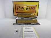 Mth Railking 30-2180-1 Union Pacific E-8 Aa Diesels Ps.1 O Gauge Used 925 926